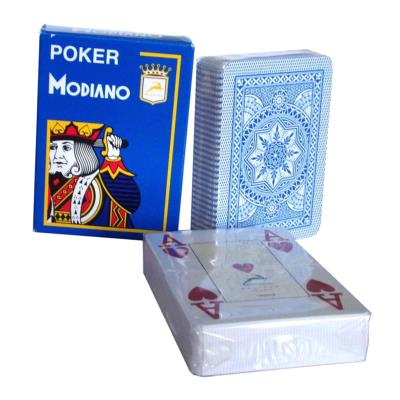Jeu de carte Modiano Cristallo