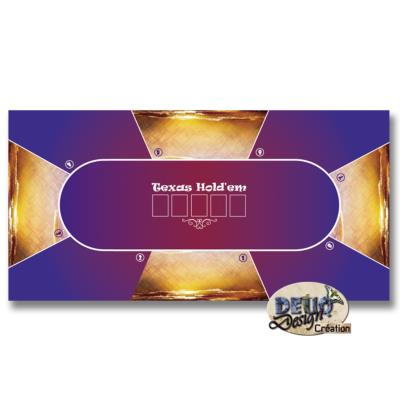 Tapis de poker - Over the Clouds - 80 X 160
